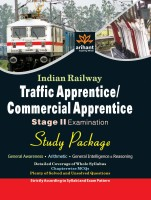Indian Railway Traffic Apprentice/Commercial Apprentice (TA/CA) Stage-2 Examination Study Huide price comparison at Flipkart, Amazon, Crossword, Uread, Bookadda, Landmark, Homeshop18