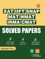 XAT, IIFT, SNAP, MAT, NMAT, IRMA, CMAT Solved Papers price comparison at Flipkart, Amazon, Crossword, Uread, Bookadda, Landmark, Homeshop18