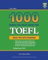 Columbia 1000 Words You Must Know for TOEFL: Book Two with Answers price comparison at Flipkart, Amazon, Crossword, Uread, Bookadda, Landmark, Homeshop18