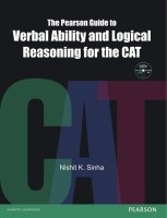 The Pearson Guide To Verbal Ability And Logical Reasoning For The CAT 1st Edition price comparison at Flipkart, Amazon, Crossword, Uread, Bookadda, Landmark, Homeshop18