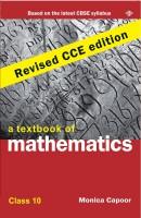A Textbook of Mathematics 10 (CCE Edition) price comparison at Flipkart, Amazon, Crossword, Uread, Bookadda, Landmark, Homeshop18
