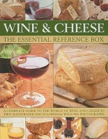 Wine and Cheese: The Essential Reference Box: A Complete Guide to the World of Wine and Cheese in Two Illustrated Encyclopedias with 900 Photographs price comparison at Flipkart, Amazon, Crossword, Uread, Bookadda, Landmark, Homeshop18