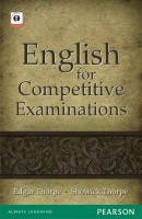 English for Competitive Examinations 1st  Edition price comparison at Flipkart, Amazon, Crossword, Uread, Bookadda, Landmark, Homeshop18