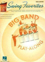 SWING FAVORITES BIG BAND PLAY-ALONG VOL. 1 TENOR SAX BK/CD (Hal Leonard Big Band Play-Along)