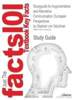 Studyguide for Augumentative and Alternative Communication: European Perspectives by Tetzchner, Stephen Von, ISBN 9781897635599 price comparison at Flipkart, Amazon, Crossword, Uread, Bookadda, Landmark, Homeshop18
