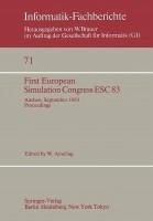First European Simulation Congress Esc 83: Aachen, September, 12 16, 1983 Proceedings price comparison at Flipkart, Amazon, Crossword, Uread, Bookadda, Landmark, Homeshop18