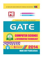 GATE - Computer Science & Information Technology price comparison at Flipkart, Amazon, Crossword, Uread, Bookadda, Landmark, Homeshop18