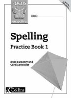 FOCUS ON SPELLING PRACTICE BOOK 1 best price on Flipkart @ Rs. 349