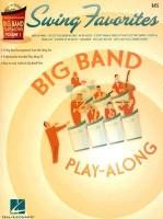 SWING FAVORITES BIG BAND PLAY-ALONG VOL. 1 BASS BK/CD (Hal Leonard Big Band Play-Along)