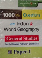 1000 Plus Questions on Indian and World Geography 1st Edition price comparison at Flipkart, Amazon, Crossword, Uread, Bookadda, Landmark, Homeshop18