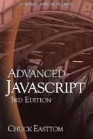 Advanced JavaScript(English, Paperback, Easttom) best price on Flipkart @ Rs. 1980
