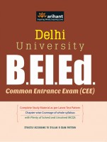 Delhi University B.El.Ed: Common Entrance Exam (CEE) price comparison at Flipkart, Amazon, Crossword, Uread, Bookadda, Landmark, Homeshop18