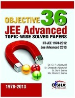 36 Years Objective JEE Advanced Topic-wise Solved Papers : IIT-JEE 1978 - 2012 JEE Advanced 2013 8th Edition price comparison at Flipkart, Amazon, Crossword, Uread, Bookadda, Landmark, Homeshop18