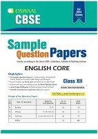 CBSE Sample Question Papers - English Core price comparison at Flipkart, Amazon, Crossword, Uread, Bookadda, Landmark, Homeshop18