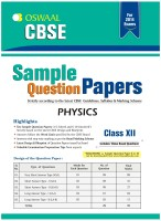 CBSE Sample Question Papers - Physics price comparison at Flipkart, Amazon, Crossword, Uread, Bookadda, Landmark, Homeshop18