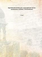 Eigentliche Beschreibung der an der Spitze der Ost-See neuerbaueten russischen 1718