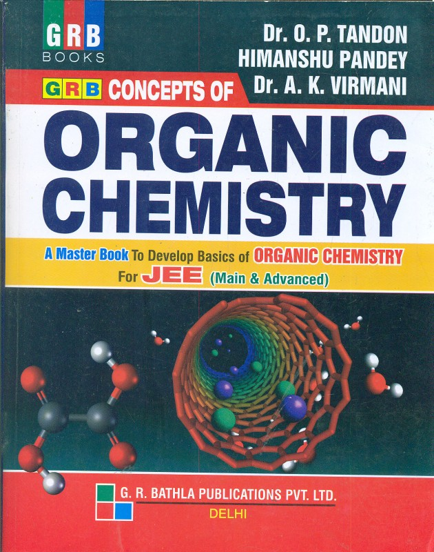 Concepts of Organic Chemistry for JEE (Main & Advanced) 4th...