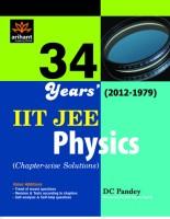 IIT JEE Physics 34 Year's (2012 - 1979) 01 Edition price comparison at Flipkart, Amazon, Crossword, Uread, Bookadda, Landmark, Homeshop18