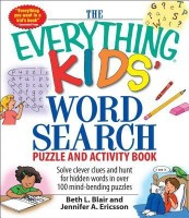 Everything Kids' Word Search Puzzle and Activity Book(English, Paperback, Jennifer A Ericsson Beth L Blair Ericsson Blair) best price on Flipkart @ Rs. 593