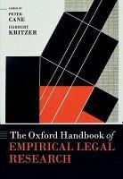 The Oxford Handbook of Empirical Legal Research the Oxford Handbook of Empirical Legal Research price comparison at Flipkart, Amazon, Crossword, Uread, Bookadda, Landmark, Homeshop18