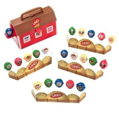 Mattel Games UNO MOO Preschool Game Board Game