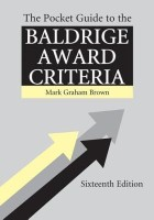 The Pocket Guide to the Baldrige Criteria (5-Pack) best price on Flipkart @ Rs. 2320