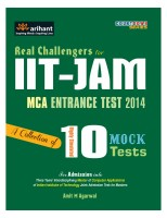 IIT - JAM MCA Entrance Test 2014 : A Collection of 10 Mock Tests price comparison at Flipkart, Amazon, Crossword, Uread, Bookadda, Landmark, Homeshop18