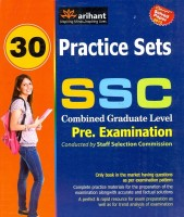 SSC Combined Graduate Level: Pre. Examination 30 Practice Sets price comparison at Flipkart, Amazon, Crossword, Uread, Bookadda, Landmark, Homeshop18