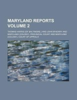 Maryland Reports Volume 2 price comparison at Flipkart, Amazon, Crossword, Uread, Bookadda, Landmark, Homeshop18