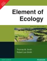 Elements of Ecology 6th  Edition price comparison at Flipkart, Amazon, Crossword, Uread, Bookadda, Landmark, Homeshop18