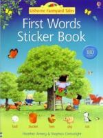 Farmyard Tales First Words Sticker Book (Farmyard Tales First Words)