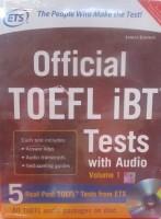 Official TOEFL iBT Tests with Audio, Volume - 1 (With CD) 2nd  Edition price comparison at Flipkart, Amazon, Crossword, Uread, Bookadda, Landmark, Homeshop18