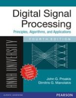 Digital Signal Processing : Principles, Algorithms, and Applications (for Anna University) price comparison at Flipkart, Amazon, Crossword, Uread, Bookadda, Landmark, Homeshop18