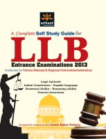 A Complete Self Study Guide for LLB Entrance Examinations 2013 price comparison at Flipkart, Amazon, Crossword, Uread, Bookadda, Landmark, Homeshop18