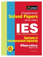 Chapterwise Solved Papers (2013-2000) IES Electronics & Telecommunication Engineering Objective Paper I & II 3rd Edition price comparison at Flipkart, Amazon, Crossword, Uread, Bookadda, Landmark, Homeshop18