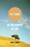 Key Terms - In Philosophy of Art price comparison at Flipkart, Amazon, Crossword, Uread, Bookadda, Landmark, Homeshop18
