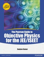 The Pearson Guide to Objective Physics for the JEE / ISEET 1st Edition price comparison at Flipkart, Amazon, Crossword, Uread, Bookadda, Landmark, Homeshop18