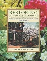 Restoring American Gardens price comparison at Flipkart, Amazon, Crossword, Uread, Bookadda, Landmark, Homeshop18