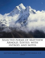 Selected Poems of Matthew Arnold. Edited, with Introd. and Notes best price on Flipkart @ Rs. 1436