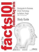 Studyguide for Business Driven Technology by Baltzan, Paige, ISBN 9780073376844 price comparison at Flipkart, Amazon, Crossword, Uread, Bookadda, Landmark, Homeshop18