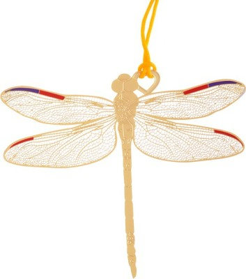 Temple Trees Dragonfly Metal Bookmark Bookmark