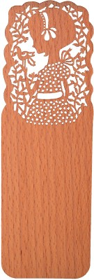Temple Trees Young Lady Wooden Bookmark Bookmark
