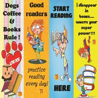 Thoughtroad Good Reader Paper Bookmark