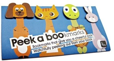 61c Peek a Bookmarks-Pet Pack Magnetic Bookmark