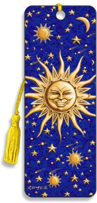 Om Book Shop Sunny 3D Bookmark