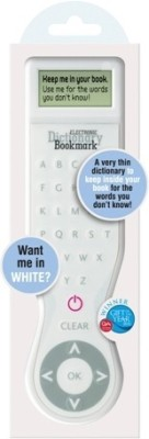 If by Chitra Electronic Dictionary - (Uk) Digital Bookmark(Funky, White)