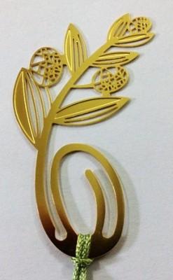Temple Trees Olive Leaf Metal Bookmark Bookmark