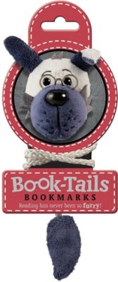 If by Chitra Tails - Dog Metal Clip Bookmark
