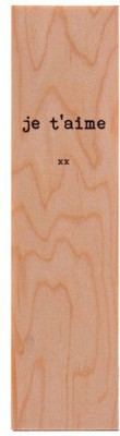 SLK Wood Products PF32 Wooden Bookmark