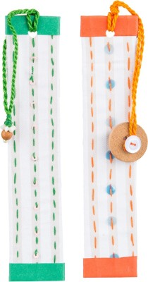 SG BOOKMARKS KANTHA EMBRIODERY MOUNT BOARD Bookmark